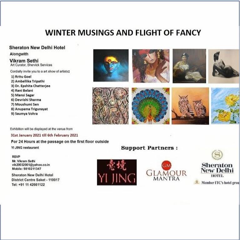 Winter Musings and Flight of Fancy - Art Exhibition