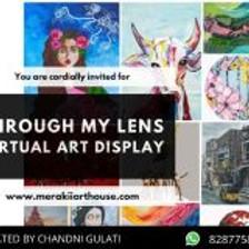 Through My Lens - Virtual Art Display