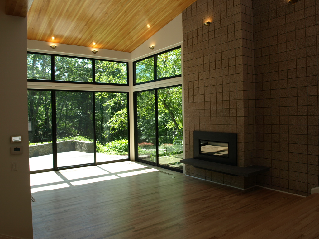 Cos Cob Living Room & Fireplace
