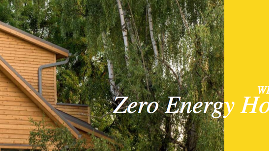 Why build zero energy homes? Click the photo to find out!