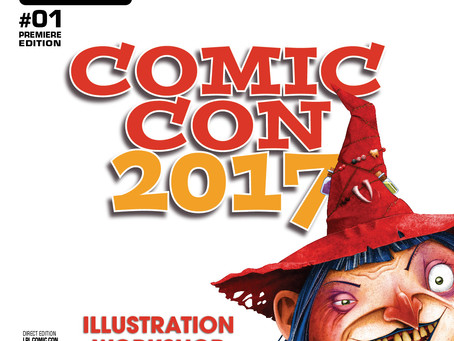 ComicCon 2017 Workshop