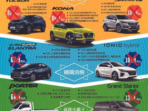 現代汽車-購車優惠專案