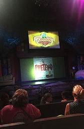PRETEND by Jennifer Plecas is performed at Dolly Parton's Dollywood by the Penguin Players at the Little Engine Playhouse in the Heartsong Theater