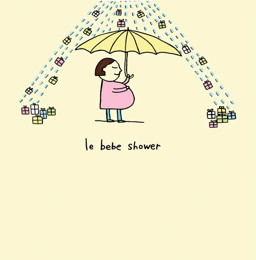 Le Bebe Shower card