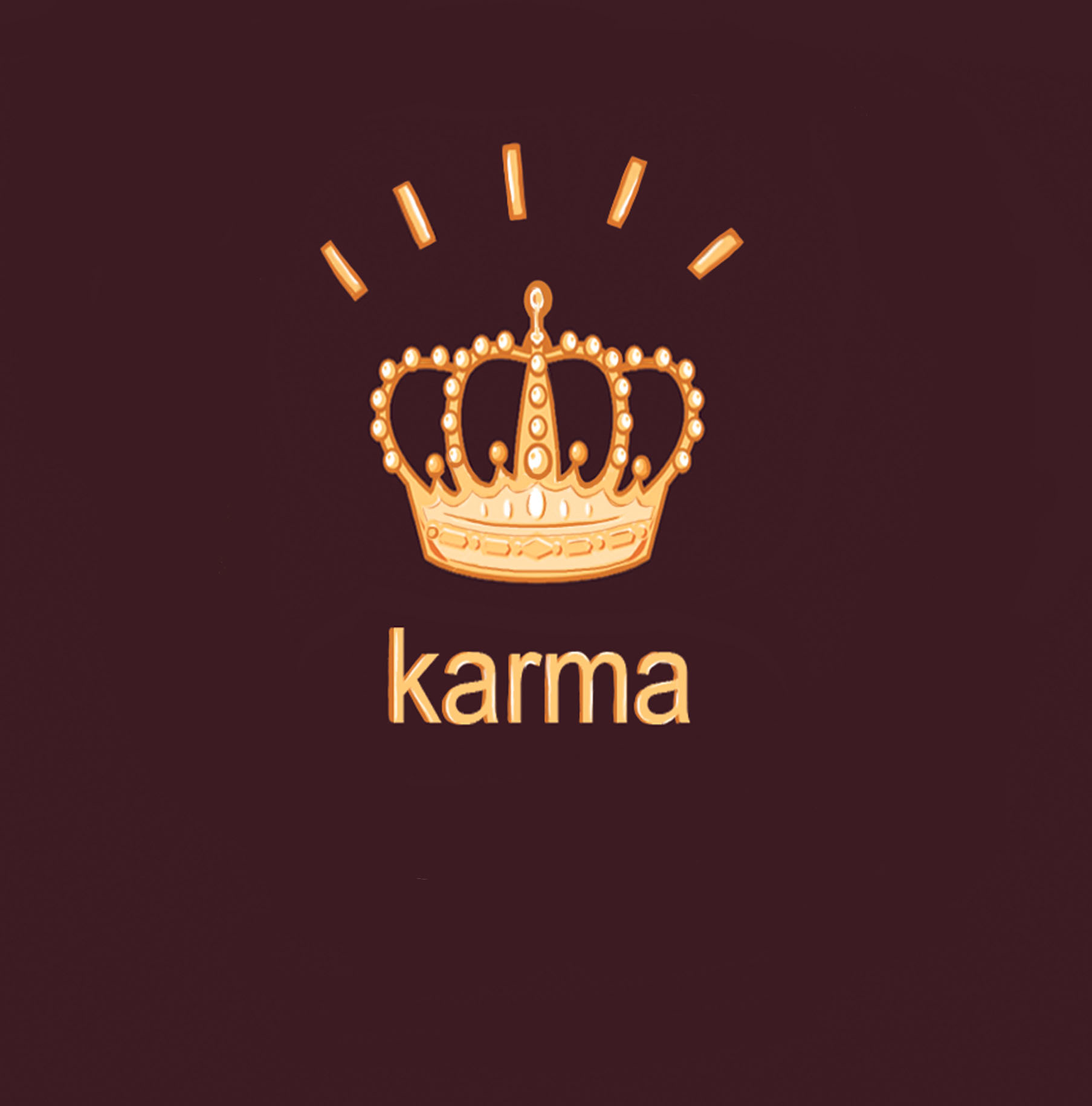 Karma King card