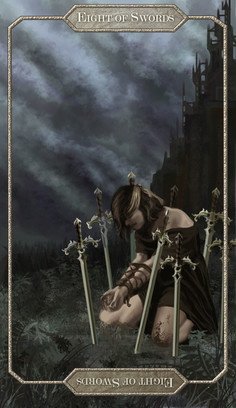 Tarot Card // Eight of Swords