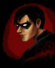 Portraits // Young Justice / Robin