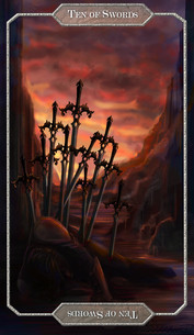 Tarot // Ten of Swords
