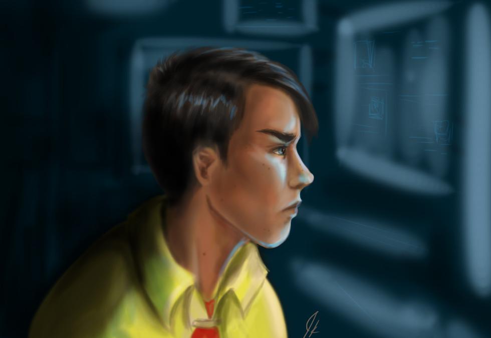 Portrait // Robin