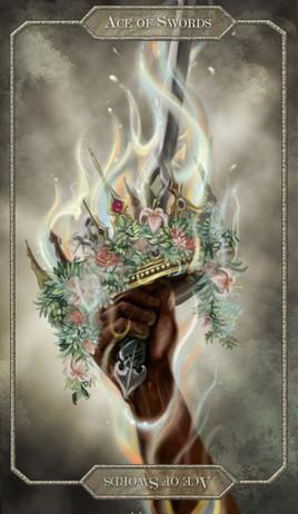 Tarot Card // Ace of Swords