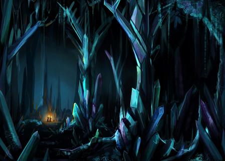 Concept Art // Underground Forests