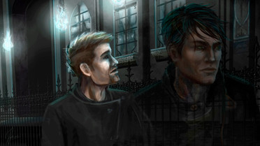 Book Illustration // The Arion Project / Walking with Ghosts