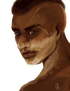 Sketches // Vitiligo
