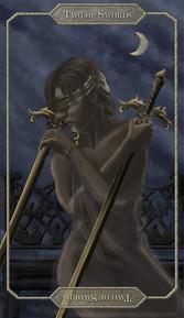 Tarot Card // Two of Swords