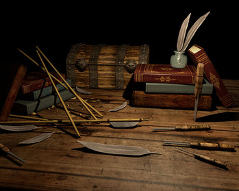 3D Animation // The Fletcher's Bench