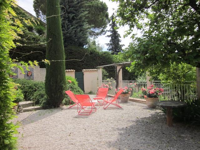 terrasse chaises longues
