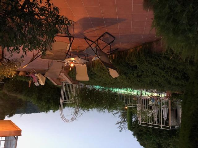 terrasse du soir