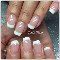 Gel French posed'ongles