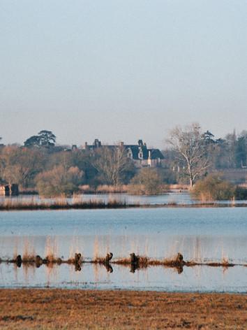 Le marais et le château de Goulaine