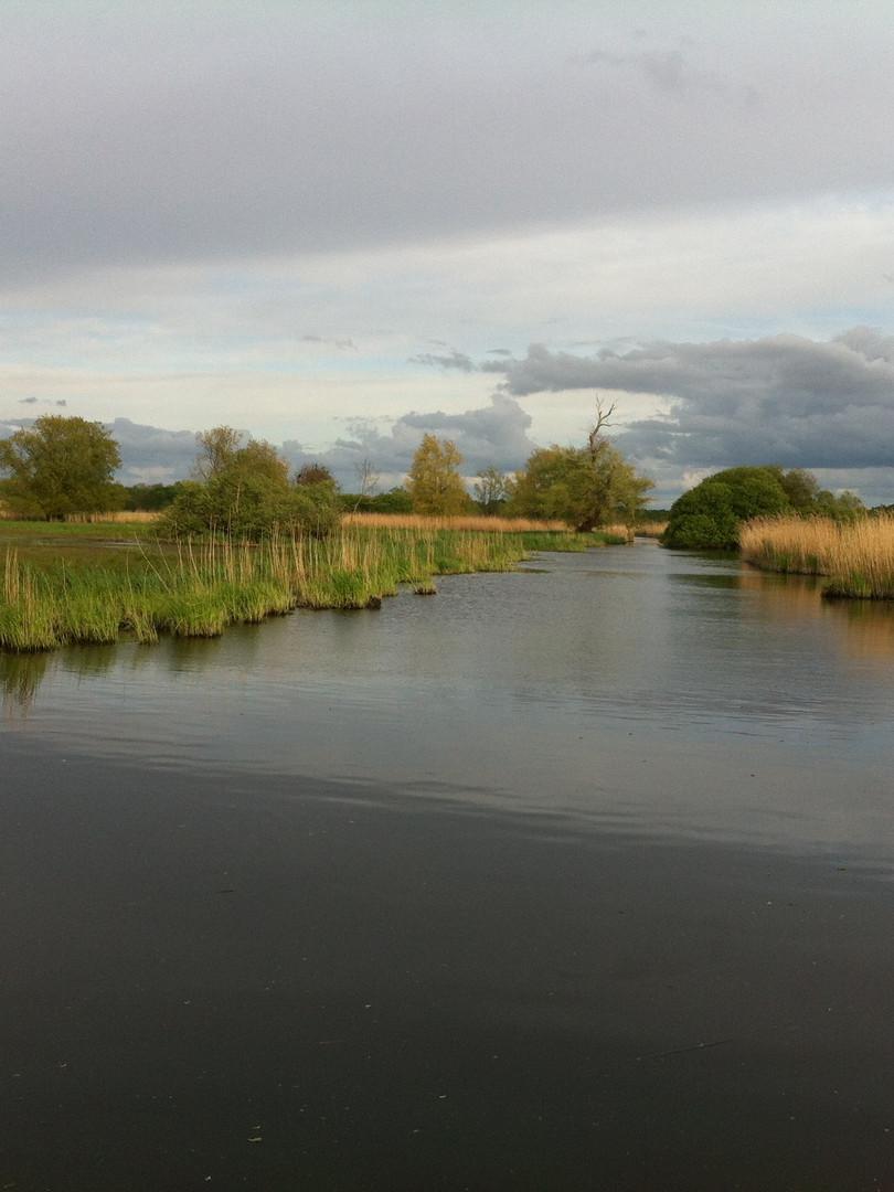 Le marais de goulaine - Pont de l'Ouen