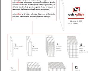 Quîckplâck proporciona un aislamiento superior a tu proyecto, rápido y sencillo de instalar