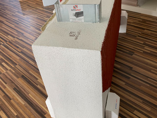 Súper pared quîckplâck steel.+ quîckplâck 200 mm.(grosor)+ 3 perfiles de 150 mm./ 1.5 mm (grosor)+ m