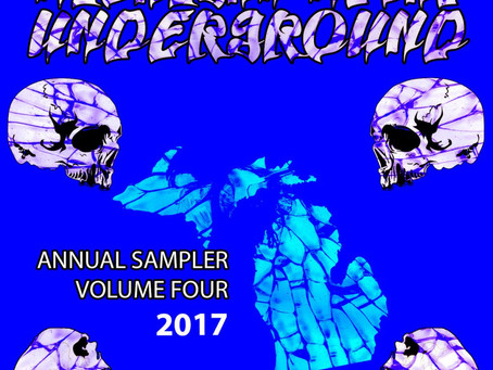Michigan Metal Underground Sampler Vol. 4 Out Now!