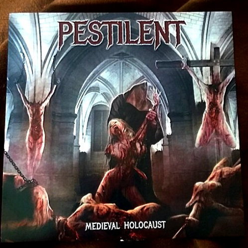 Pestilent Age-Medieval Holocaust CD-old logo