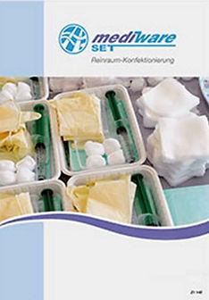 vorgefertigte oder maßgeschneiderte Verbandssets, Kathetersets, Portnadelwechel-Sets