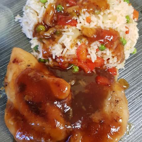 Tina's Tasty Honey Garlic Chicken
