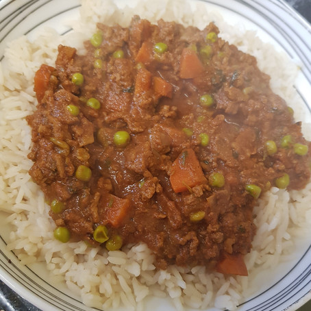 Easy Keema Curry (Stove Top and Instant Pot)