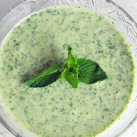 Mint and Yoghurt sauce