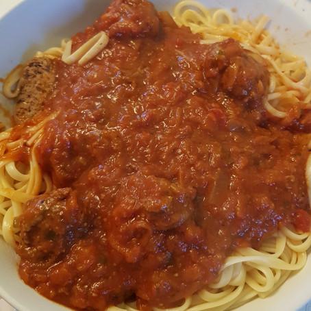 Spaghetti Bolognese (with hidden veg)