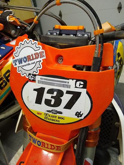 Number plate spacer (KTM 2017-2019)