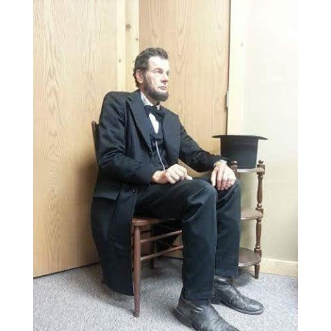 Orrin Freisen as Abraham Lincoln_ in Road to Valhalla