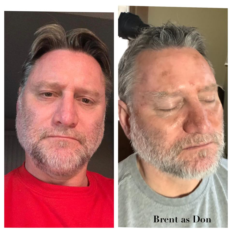 Aging an actor 15 years