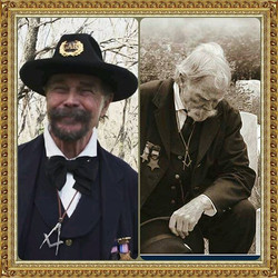 In Road to Valhalla, veteran actor Buck Taylor portrayed both a younger and an aged man