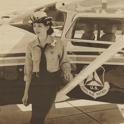 I had a blast creating a vintage CAP look for the very cool and beautiful Emily Quiles, a helo pilot
