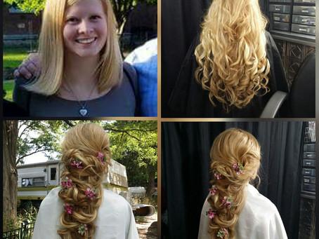 Katie's Amazing Fantasy Hairdo!