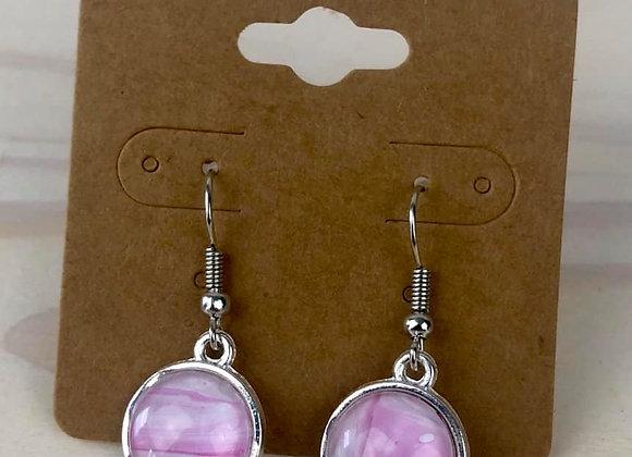Acrylic Pour Art Earrings