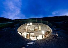 Villa Vals (Svizzera) progettata dagli architetti di SeArch e Christian Müller