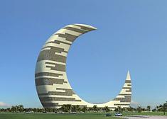 Torre delle luna crescente DUBAI
