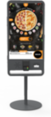 Touch screen ordering kiosks