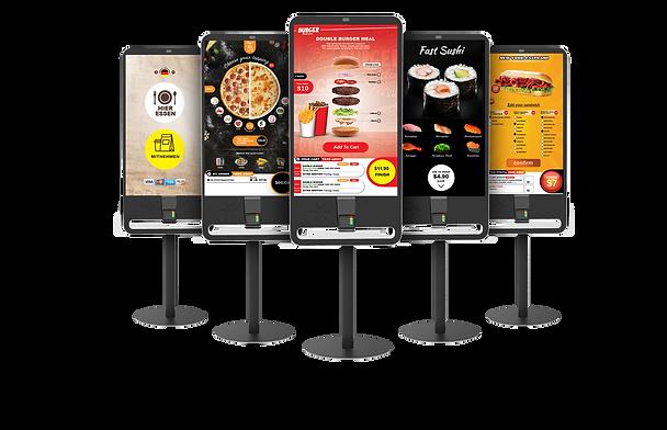 Self ordering smart kiosk similar to McDonalds new touch-screen kiosks
