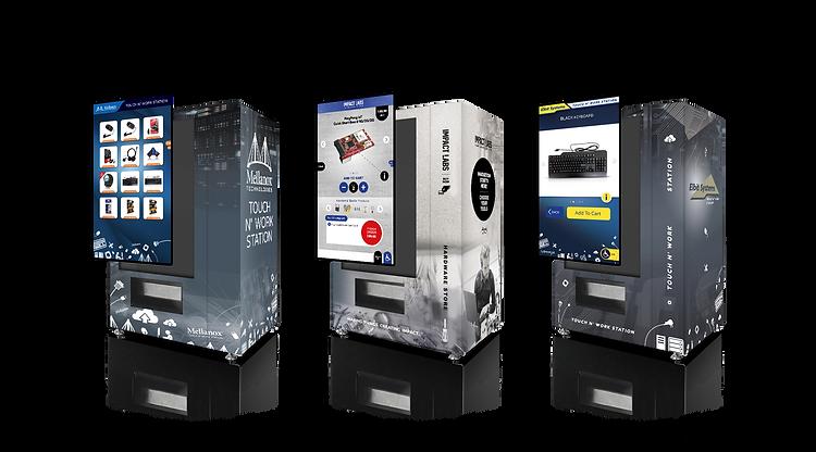self ordering smart vending machines