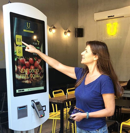 Tapit self order kiosk simplify and speed up the ordering process 🍴 #selforderkiosk #foodlover #healthyfood #foodtech #tapit