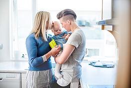 Couple avec leur bébé