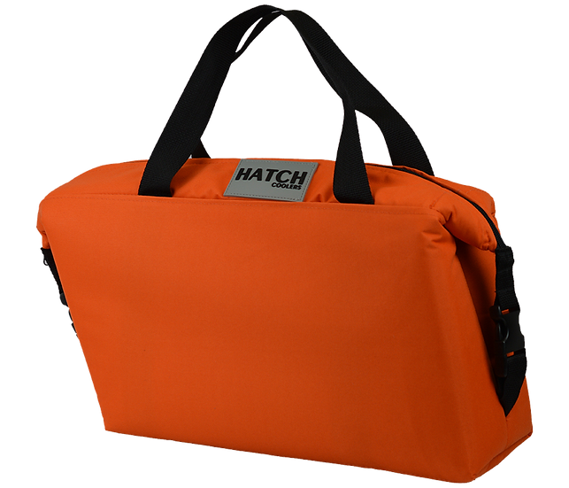 18 Pack Saddle Bag (Tangerine)