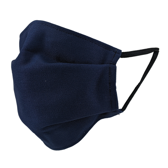 Face Masks w/filter pocket (Midnight Blue)