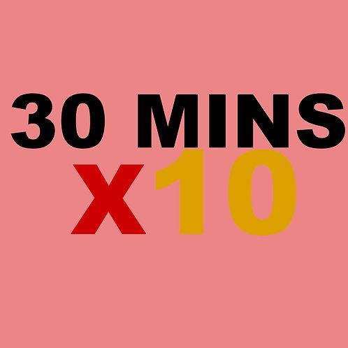 30 Minute 10 Credits